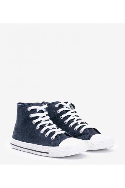 Pánske topánky tenisky modré NJSK B082-M