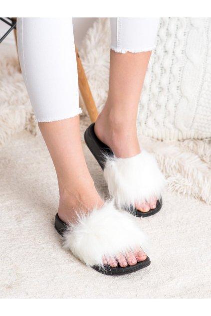 Biele dámske topánky na doma Trendi kod RS-9W