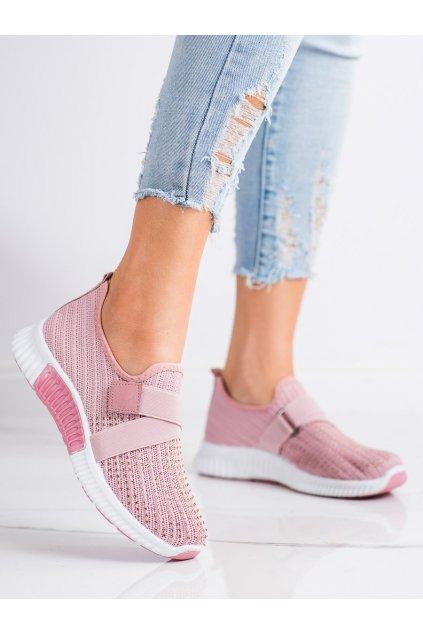 Ružové dámske tenisky Trendi kod C029ROSA