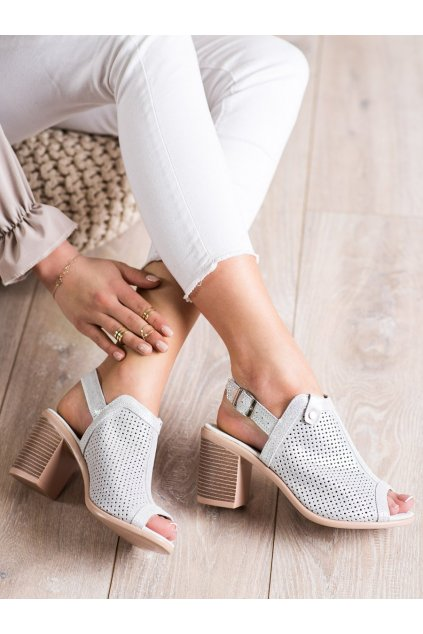 Sivé dámske sandále Vinceza kod FT20-8688S