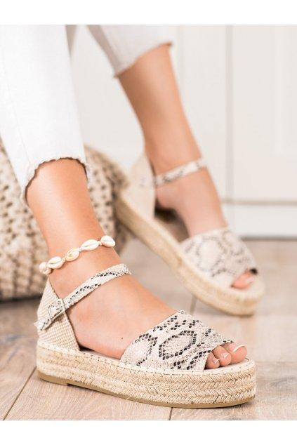 Zvierací motív dámske sandále Bestelle kod A663SNA