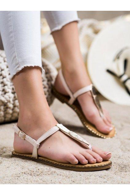 Hnedé dámske sandále Seastar kod CK163BE