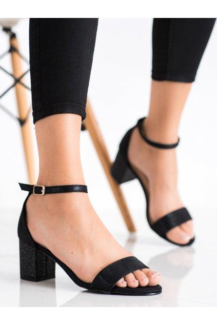 Čierne dámske sandále Kayla kod LL6290B