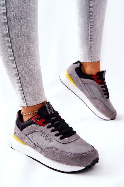 Dámske tenisky farba čierna kód obuvi II274406 GREY