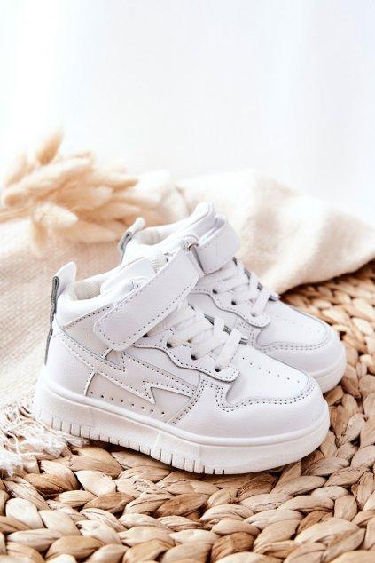 Detské tenisky farba biela kód obuvi 101-2B/3B WHT
