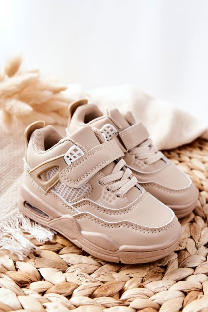 Detské tenisky farba biela kód obuvi 104-2D/3D BEIGE