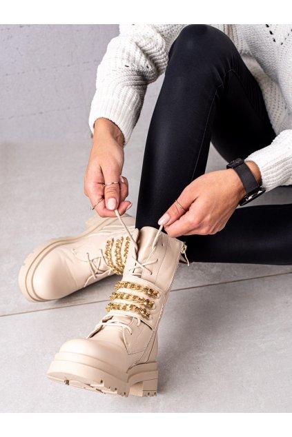 Hnedé dámske topánky Seastar kod NC1227BE