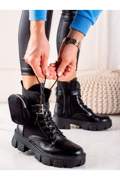 Čierne dámske topánky Best shoes kod