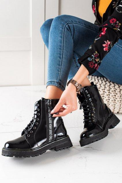 Čierne dámske topánky Goodin kod GD-XR-612B