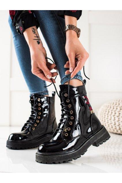 Čierne dámske topánky Goodin kod GD-XR-611B