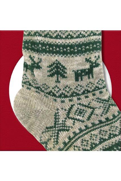 Pánske zateplené ponožky na zimu tmavosivé YF03M Dark GREY