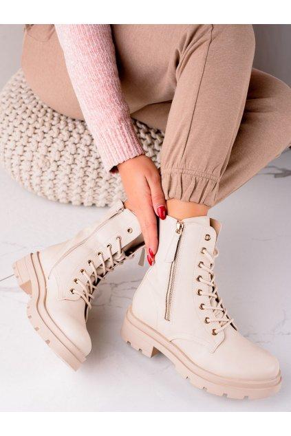 Hnedé dámske topánky Sixth sense kod JW127BE