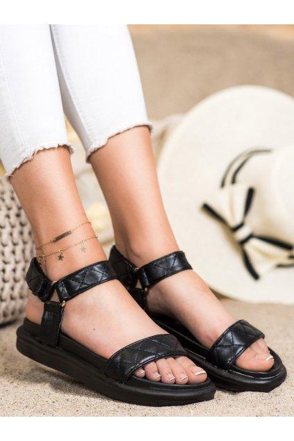 Čierne dámske sandále Seastar kod CK197B