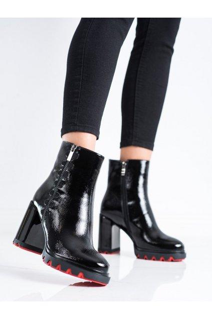 Čierne dámske topánky Filippo kod DBT3332/21B