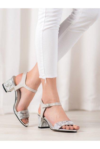 Sivé dámske sandále Goodin kod FL1028S