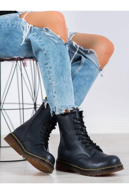 Fialové dámske topánky Mckey kod GL429/20N
