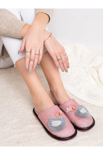 Ružové dámske topánky na doma Bona kod WG-213P