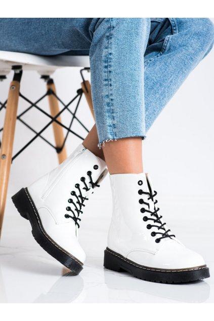 Biele dámske topánky Trendi kod LT216W