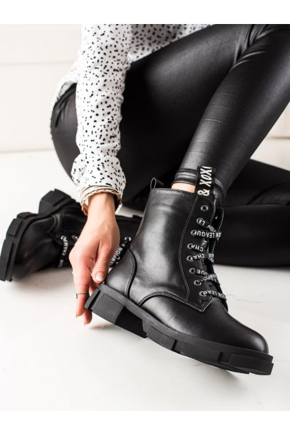 Čierne dámske topánky Goodin kod