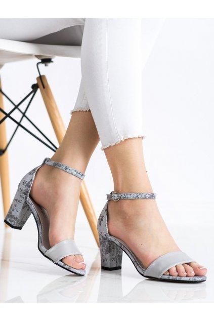 Sivé dámske sandále Goodin kod GD-FL281G