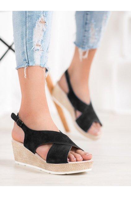 Čierne dámske sandále Filippo kod DS1331/20B