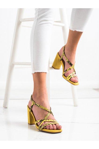 Žlté dámske sandále Kylie kod K2012502AMA