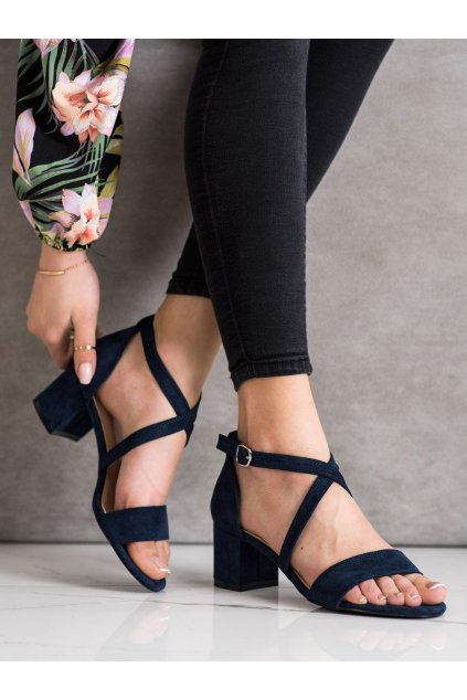 Fialové dámske sandále Sergio leone kod SK837N