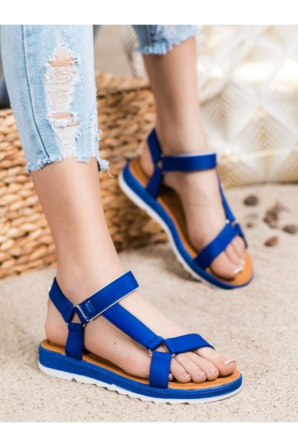 Fialové dámske sandále Trendi kod WS9027N