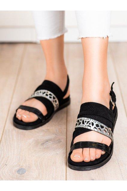 Čierne dámske sandále Evento kod 21SD35-3570B
