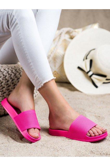 Ružové dámske šľapky Trendi kod GJ01RO