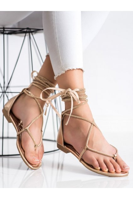 Žlté dámske sandále Seastar kod JH187CHA
