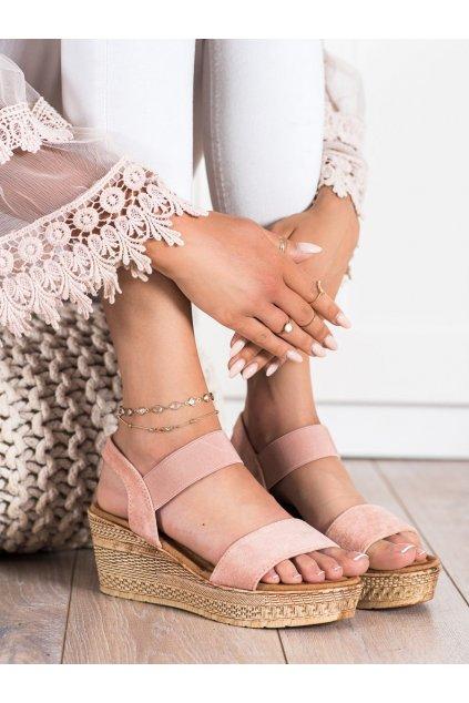 Ružové dámske sandále Queentina kod BH2606P