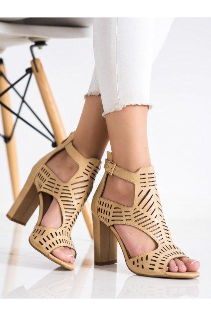 Hnedé dámske sandále Renda kod S-860BE