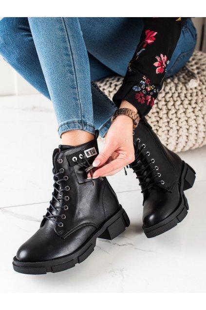 Čierne dámske topánky Goodin kod GD-XR-600B