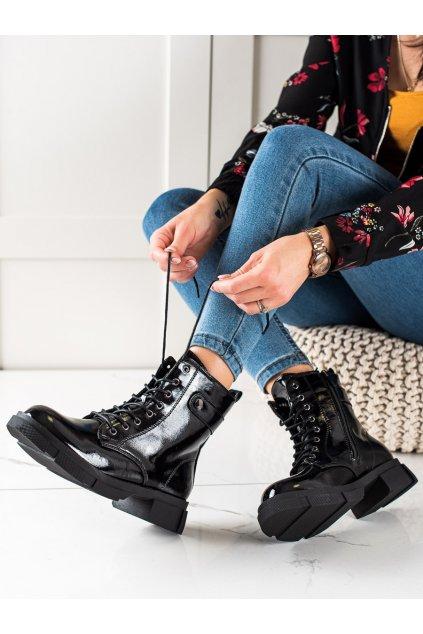 Čierne dámske topánky Goodin kod GD-XR-601B
