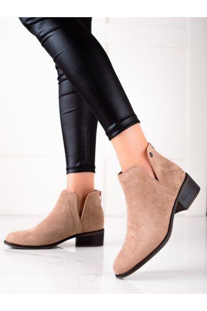 Hnedé dámske topánky Evento kod 21BT35-4283KH