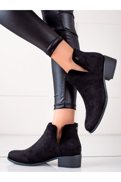 Čierne dámske topánky Evento kod 21BT35-4283B