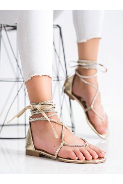 Žlté dámske sandále Seastar kod JH187GO
