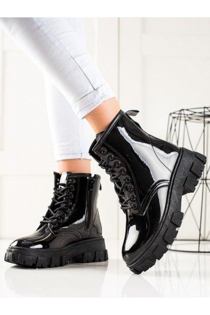 Čierne dámske topánky Sergio todzi kod