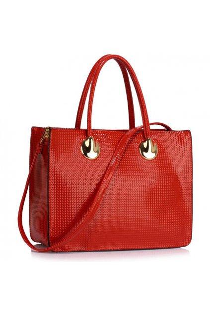 Business kabelka do ruky Annita červená LS00394A
