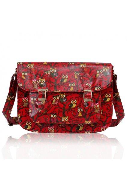 Crossbody kabelka Dee červená LS0087A