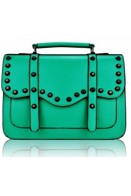 Crossbody kabelka Katrina smaragdová LS00280M