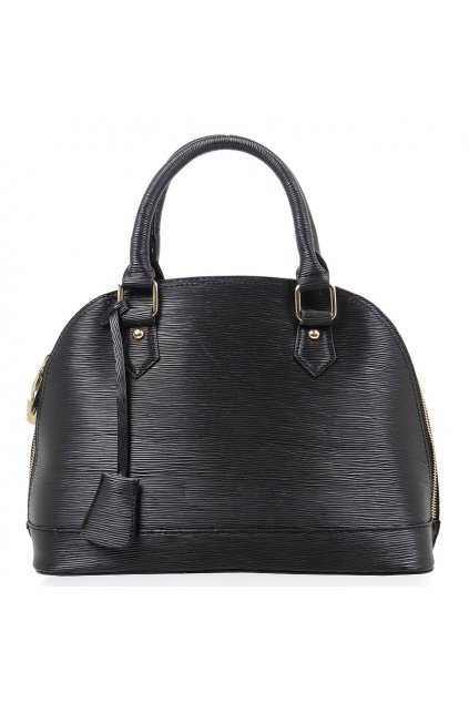 Čierna kabelka do ruky Massini Rosa L6038