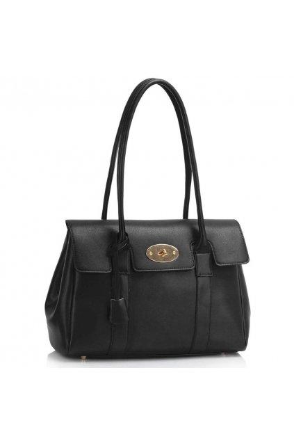 Čierna trendy kabelka Cory