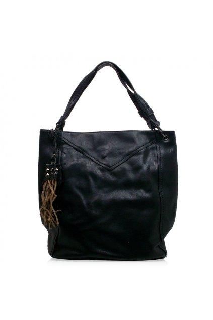 Kabelka na rameno Fashion&G čierna H010-5
