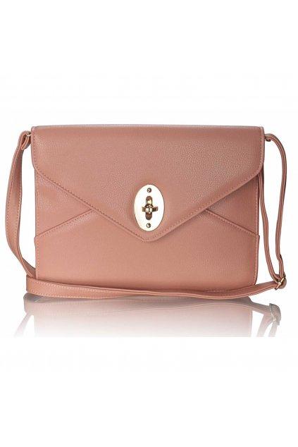 Listová kabelka ružová LSE00217