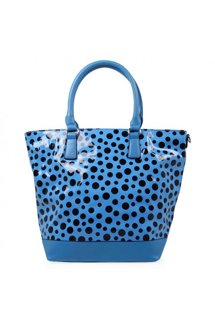 Modrá kabelka David Jones CM0489