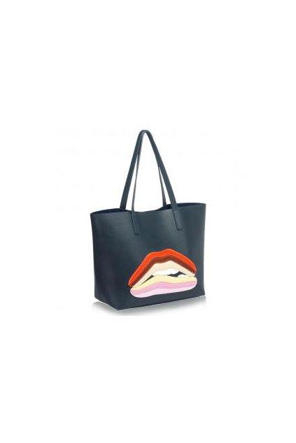 Námornícka trendy kabelka na rameno Mary ls00193