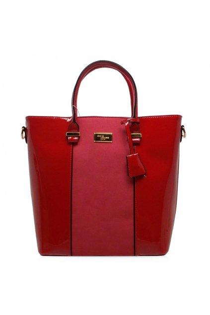 Shopper kabelka  David Jones červená CM3852