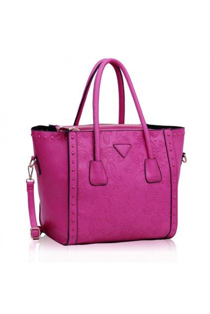 Shopper kabelka do ruky Adele fuchsia LS00213